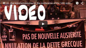 2015-10-26 01 Zoe Konstantopoulou at the European Citizens Assembly on debt