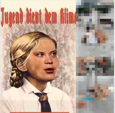 Jugend dient dem klima Greta Thunberg