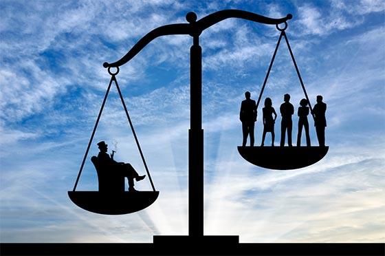 Η εξέλιξη των περιουσιακών ανισοτήτων  κατά τους δύο τελευταίους αιώνες